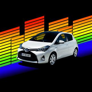 Toyota Yaris #LaCiudadMusical